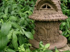 Discounted Jolly the Gnome Home by ClaySoul on Etsy, $65.00
