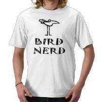 Birding T-shirt by GreenNeighbor
