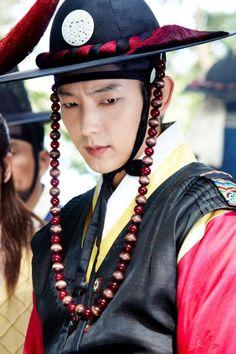Lee Jun Ki as the Magistrate in Arang and the Magistrate