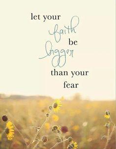 Laat je angst je niet belemmeren het avontuur aan te gaan. Maak er een mooie dag van en glimlach.