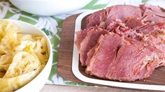 Grab your Crock-Pot for slow cooker corned beef and cabbage!