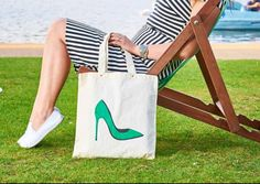 Cotton Tote Bags, Reusable Tote Bags, Teal Colors, How To Draw Hands, Eco Friendly, High Heels, Etsy Shop, Trending Outfits, Handmade Gifts