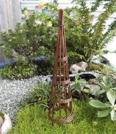 Bean Pole mini garden