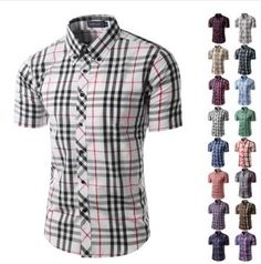 Check out my listing on Shopify! 2017 Male casual shirt summer mens short sleeve shirts checked plaid dress shirts for men http://whachuwan.myshopify.com/products/2017-male-casual-shirt-summer-mens-short-sleeve-shirts-checked-plaid-dress-shirts-for-men?utm_campaign=crowdfire&utm_content=crowdfire&utm_medium=social&utm_source=pinterest
