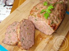 ***Pork Loaf***BaBy w kuchni: No to klops, czyli pieczeń rzymska Pork Meatloaf, Best Meatloaf, Mince Dishes, Pork Dishes, Sausage Recipes, Pork Recipes, Cooking Recipes, Czech Recipes, Snacks Für Party