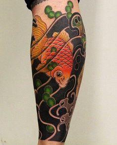 "376 Me gusta, 2 comentarios - Japanese Ink (@japanese.ink) en Instagram: ""Japanese leg-sleeve tattoo by @horifuku. #japaneseink #japanesetattoo #irezumi #tebori…"""