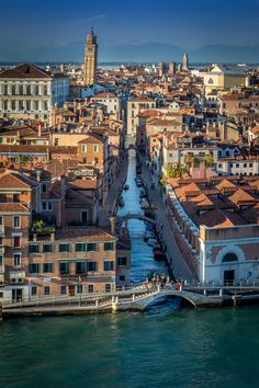 Italy. Venice from above