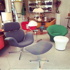 Big Tulip lounge chair by Pierre Paulin, ed. Artifort - 1960s