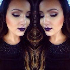 Fall makeup #vampy