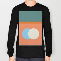 Spring Eclipse Long Sleeve T-shirt by Ozorozo - Black - LARGE - Long Sleeve T-shirt Eclipse T Shirt, Spring, Long Sleeve, Sleeves, Mens Tops, Stuff To Buy, Shirts, Black, Fashion