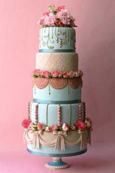 Marie Antoinette Cake!
