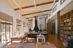 What an incredible studio space! I could live/work here.  House / Studio Las Rúas / Olimpia Lira