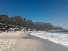 #CampsBay Beach is one of the most glamorous and popular beaches #CapeTown has to offer.  Read my review of it here: http://tamlynamberwanderlust.com/beach-review-camps-bay-beach-cape-town/