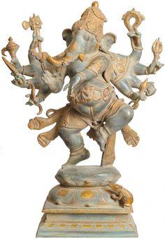 Ashtabhuja-dhari Yuddha Ganesha (Ganesha the Spiritual Warrior)