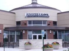 Coopers Hawk Brookfield Square. One of our favorite places to eat (and sample all the different wines)