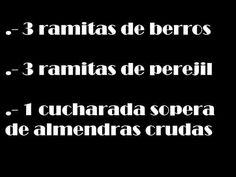 LICUADO REVITALIZANTE, ANTI CANCER, EDITA HERNANDEZ, CASI MILAGROSO!!!! - YouTube
