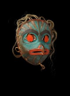 Donald Ellis Gallery to Unveil Rare Eskimo Masks at New York's Winter Antiques Show Native American Masks, American Indian Art, Animal Masquerade Masks, Renaissance Time, Bird Masks, Art Premier, Tlingit, Inuit Art, Antique Show
