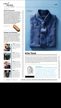 Pagina de pastillas: uso de misceláneas para separar notas, estilos tipográficos, jerarquías, diagramación. Esquire magazine