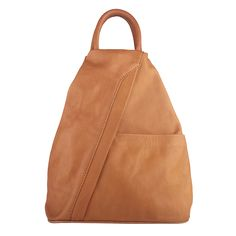 Peta Cognac unisex backpack ... perfect bag if you are a cycling today..or going for a power walk..  Free shipping within Australia