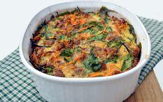Sausage and Sweet Potato Breakfast Casserole | Plaid and Paleo