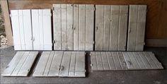 Salvaged Cabinet Doors ~ Windows & Doors ~ Architectural Salvage ~ Online Flea ~ Artisanaworks