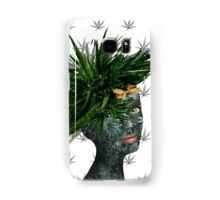 Samsung Galaxy Case/Skin - Mary Jane, my marijuana / cannabis design, is the 9th work in my surreal portrait series.