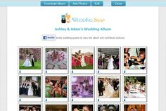 Wedding Snap app...easier than buying disposable cameras for guests to use.