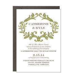 decorative invite