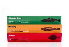 Rethinking fish packaging by Design by St for ICON Magazine