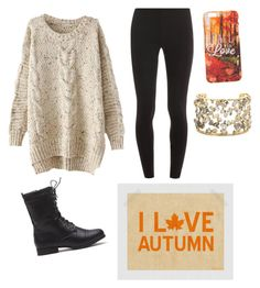 """Lets FALL in love"" by elizabethnutt ❤ liked on Polyvore featuring Splendid and Alexis Bittar"