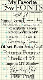 Free Fonts and How to download font tutorial
