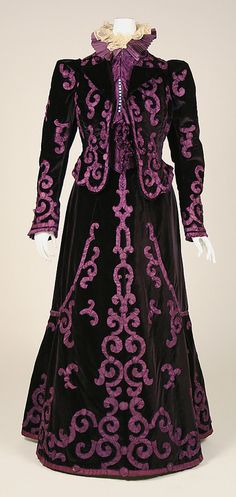 Suit Jeanne Paquin, late 1890s The Metropolitan Museum of Art