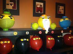Ninjago Birthday Party!!!