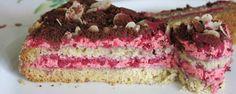 WEGAŃSKI TORT MALINOWY – Wszystko jest w głowie  #vegan #cake #wszystkojestwglowie
