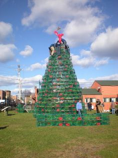 Christmas Tree (Lobster traps)