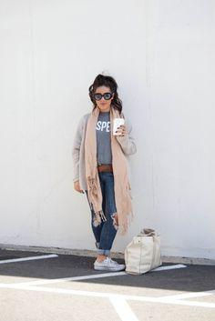 cozy fall outfit | kailaniskorner.com