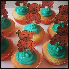 #teddy bear #cupcakes
