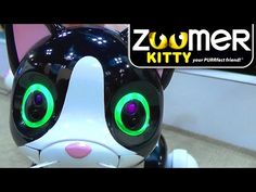 Award Winning Robot Dinosaur Evolves Into Kitten | Having won the toy industry's Toy of the Year with Zoomer Dino, Spin Master returns this year with the new Zoomer Kitty and Zoomer Zuppies robots along with a mischievous Jester Zoomer Dino complete with Zombie mode.