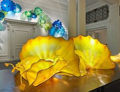 Dale Chihuly exhibition Halcyon Gallery