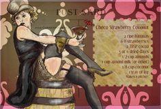 Smoothie Time!  Design Inkarnation Blog: Marlene Loves Choco Strawberry Coconut