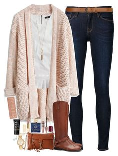 """""""Comment To Be On My Tag List!"""" by teamboby ❤ liked on Polyvore featuring Frame Denim, J.Crew, Rebecca Minkoff, Tory Burch, Kendra Scott, Michael Kors, Essie, Maybelline, Kate Spade and Urban Decay"""