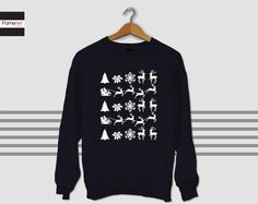 Christmas Sweater Ugly Christmas sweater Sweatshirt Winter is Cunning Jumper  #fashion #cute #gift #offers #tumblr