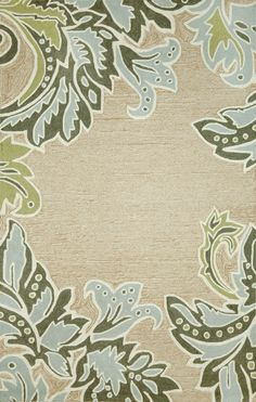 Trans-Ocean Imports RVL71194704 Ravella Collection Natural Finish Everywear Rug