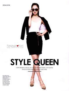 #SNSD #Yuri on Instyle Magazine