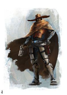 Cowboy Concept by Deiyeah