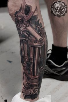 Welder Tattoo, Gear Tattoo, Mechanic Tattoo, Tatoo, Weird Tattoos, 3d Tattoos, Badass Tattoos, Love Tattoos, Body Art Tattoos