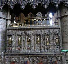 (PlantagenetEdwardIIITomb) Tomb of King Edward III- Westminster Abbey