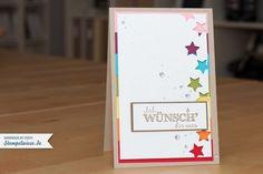 card Rainbow ♥ Stempelwiese