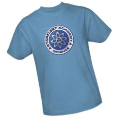 Star Trek Starfleet Academy Science Rank Insignia T-Shirt - Available in adult, youth and juniors sizes.
