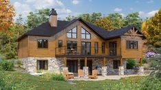 It's been a handful of weeks since Timber Block released the Evolution Series: a collection of pre-designed homes that focuses on lifestyle, high performance and optimized spaces. Here is one of the 15 models in the new series: The Orion. The Orion is 1761 to 1914 sq. ft., depending on the option. Options include a 4-seasons room and garage and a 4-seasons room without a garage, and a choice without either.  #TimberBlock #TBEVolution #homedesign #trendsetting #zerowaster #floorplans…